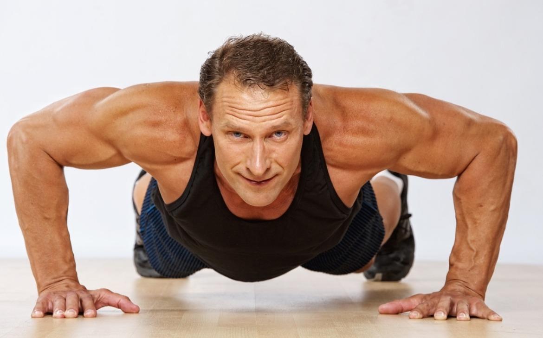 Homem fazendo exercício