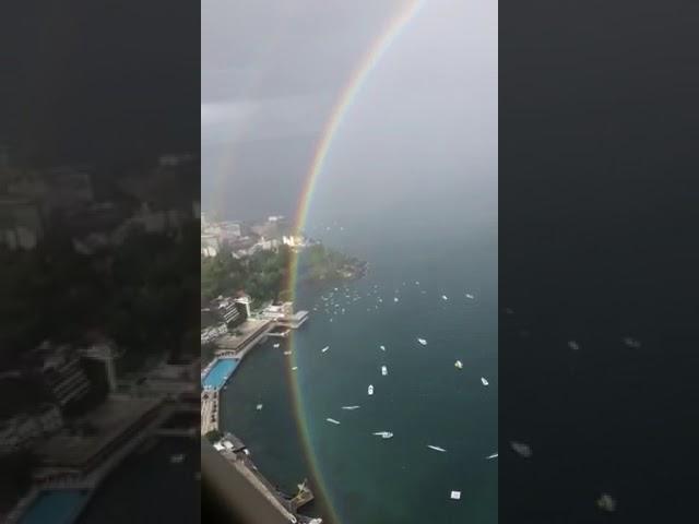 Arco-íris completo vídeo