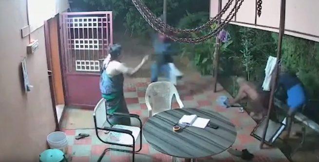 Idosos reagem a ladrões armados e se dão bem